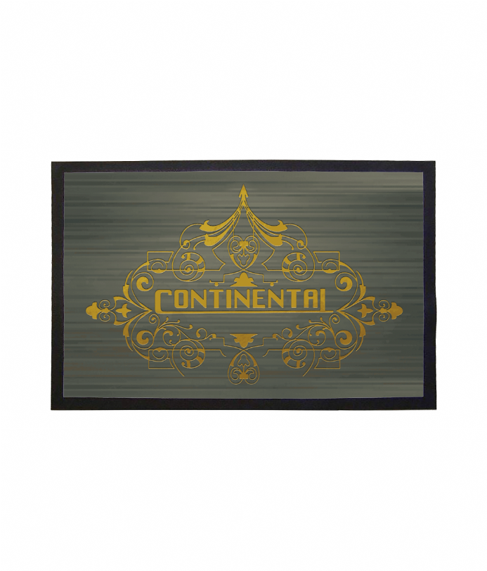 Continental Hotel Doormat Welcome Inspired By John Wick 3
